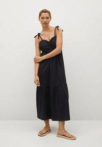 Mango - INES - Day dress - zwart - 0