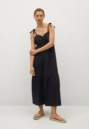 INES - Day dress - zwart
