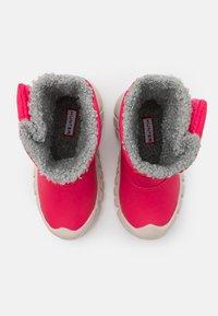 Hunter ORIGINAL - ORIGINAL KIDS BOOTS - Zimní obuv - bright pink - 3