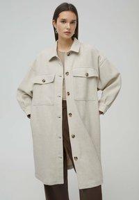 PULL&BEAR - Classic coat - beige - 0