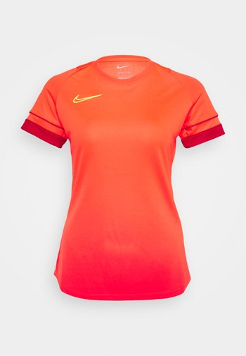 ACADEMY 21 - T-shirts med print - bright crimson/gym red/volt