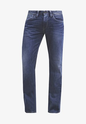 KINGSTON ZIP - Džíny Straight Fit - blue