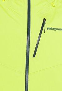 Patagonia - SNOWDRIFTER - Snowboard jacket - chartreuse - 2