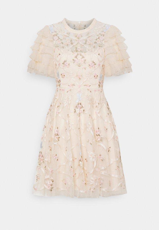 ISADORA MINI DRESS - Robe de soirée - champagne