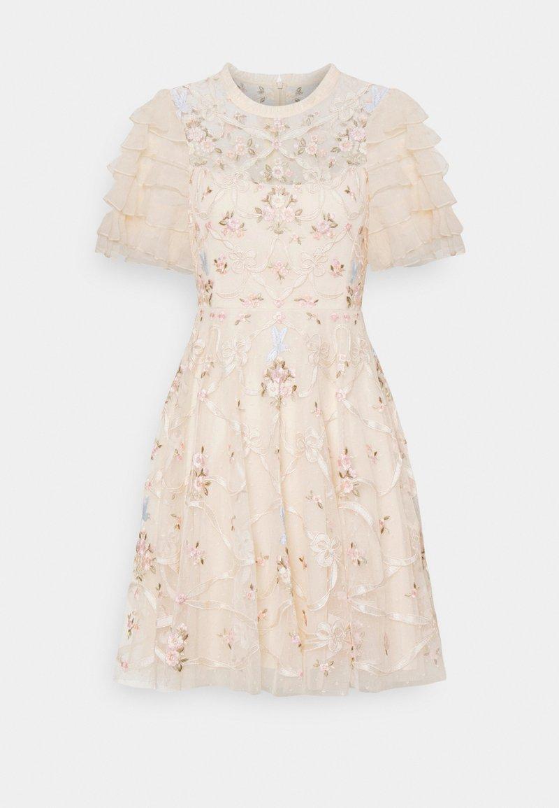 Needle & Thread - ISADORA MINI DRESS - Koktejlové šaty/ šaty na párty - champagne