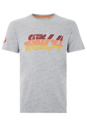 T-Shirt print - grau