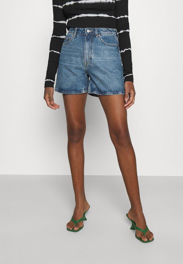 EYA - Jeans Short / cowboy shorts - harper blue