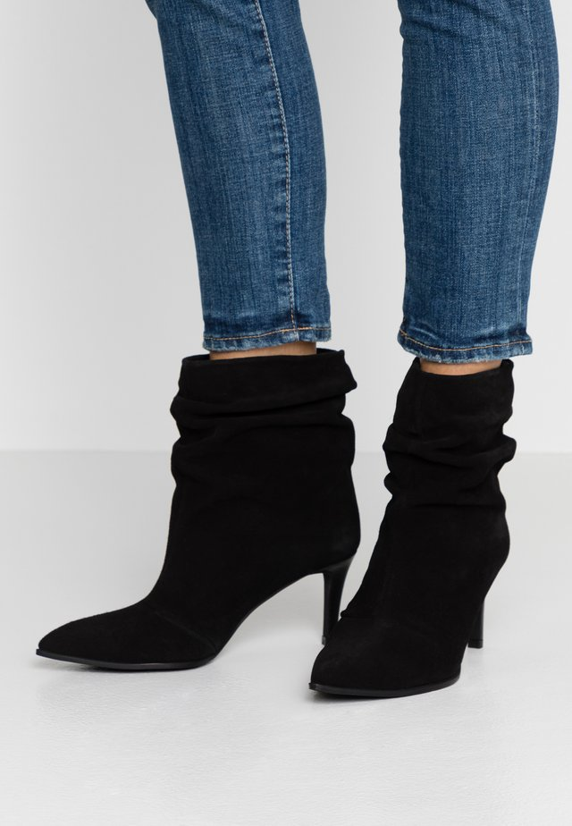 CLAIRE - Classic ankle boots - black