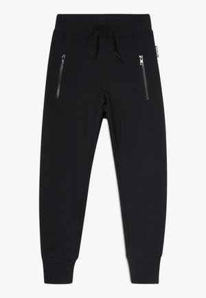 ASHLEY - Tracksuit bottoms - black