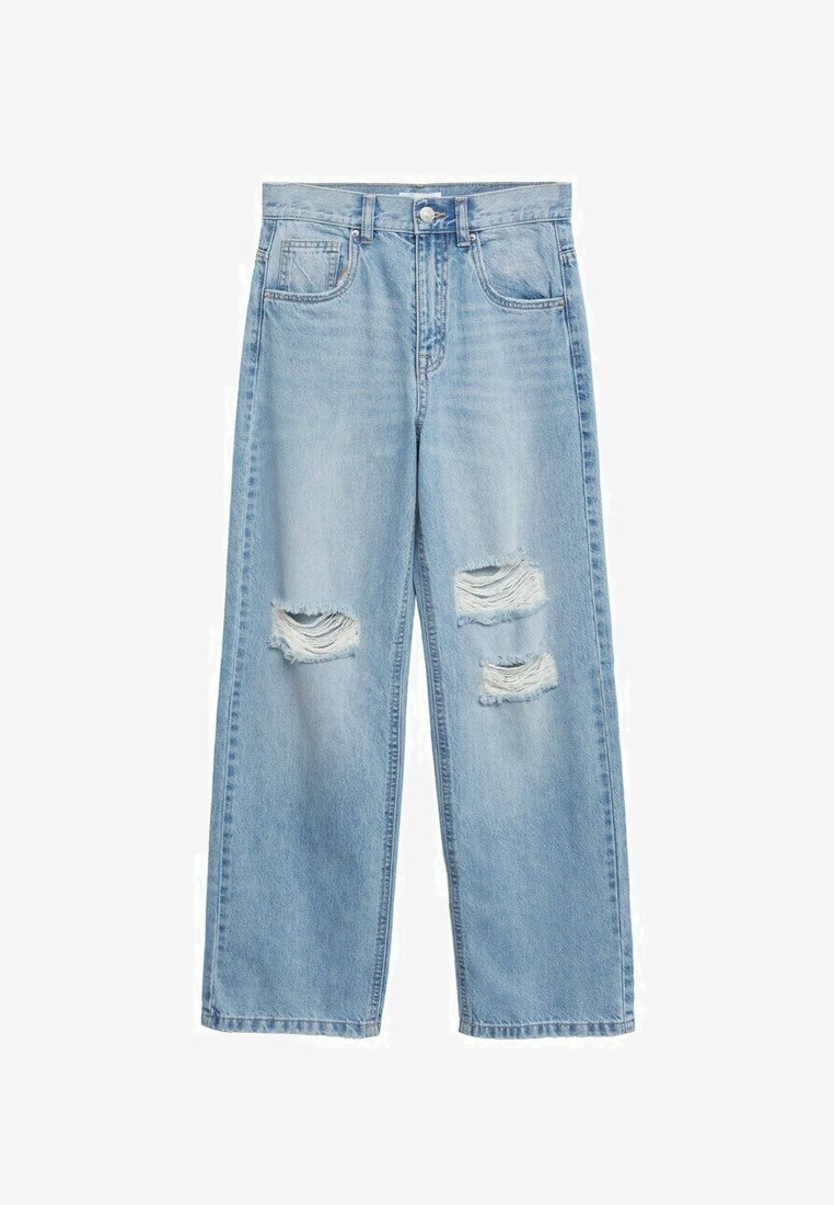 Mango - Jeans a sigaretta - blue