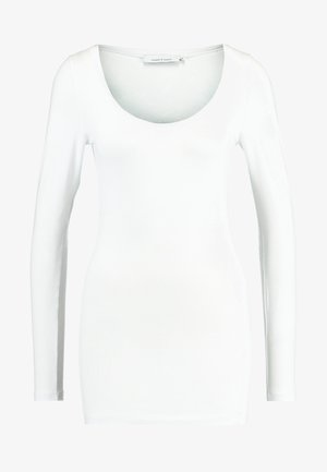 SOLID - Pitkähihainen paita - white