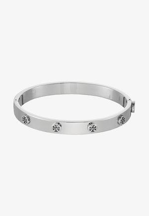 LOGO STUD HINGE BRACELET - Bracelet - silver