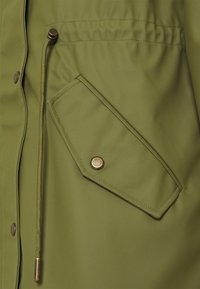ONLY Tall - ONLRIE RAINCOAT - Waterproof jacket - capulet olive - 2