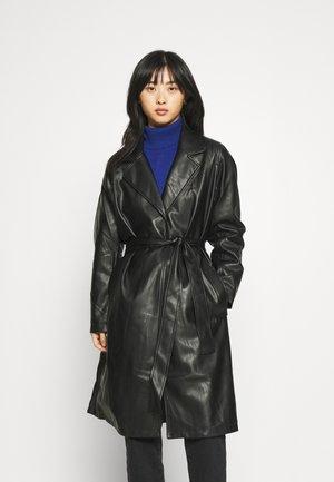 ELOISE BELTED COAT - Classic coat - black