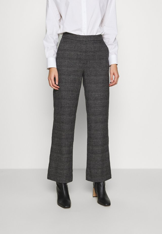 MARNY TROUSERS - Trousers - grey / check