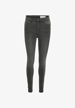 Skinny džíny - light grey denim