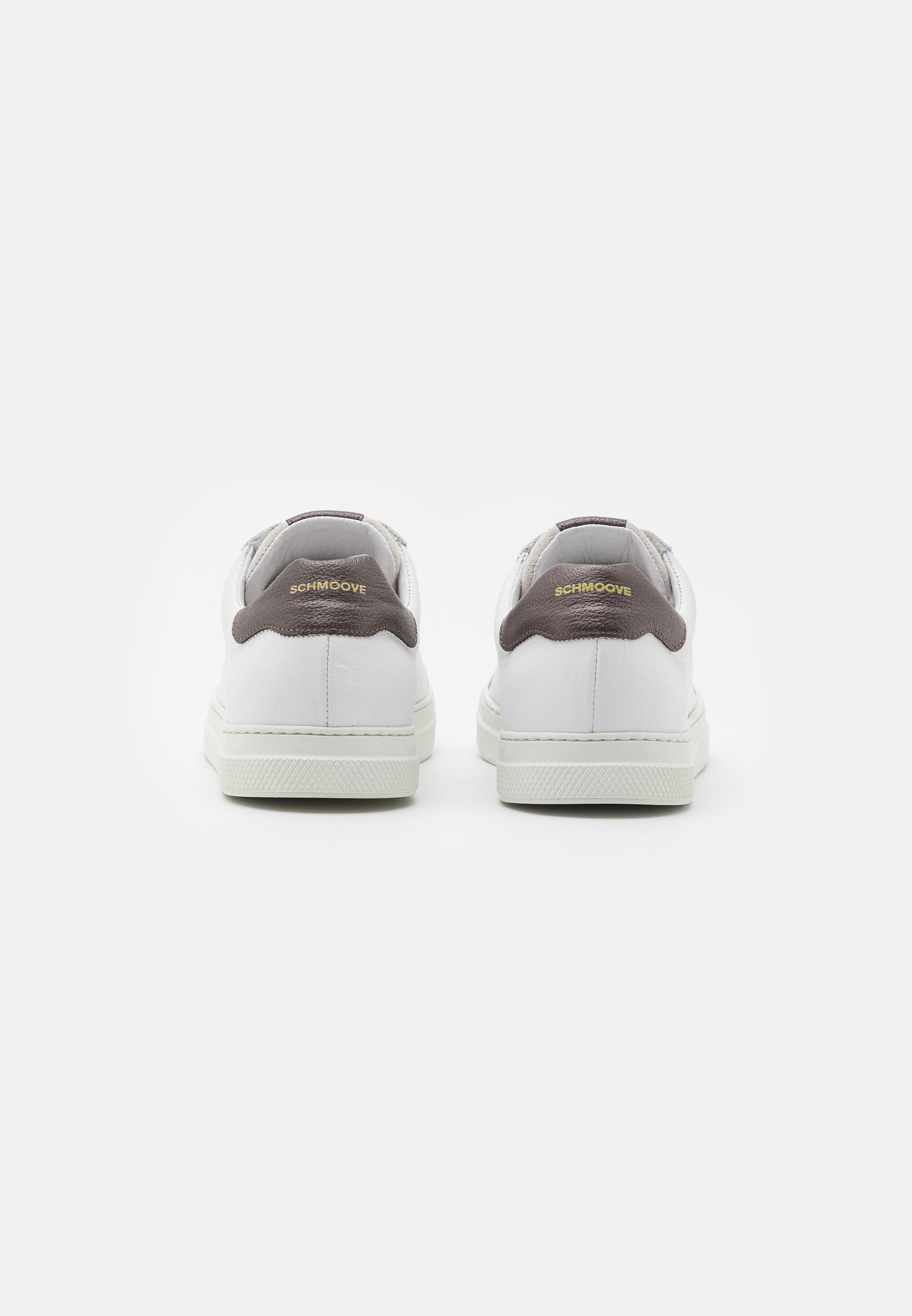 Schmoove SPARK CLAY - Sneaker low - white/graphite/weiß - Herrenschuhe rc65Y