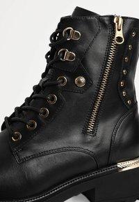 NeroGiardini - Cowboy/biker ankle boot - nero - 5