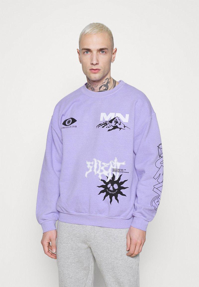 Mennace - UNITE - Sweatshirt - lilac