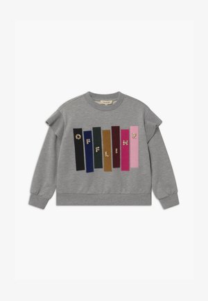 GIROCOLLO STAMPATA - Sweater - mottled grey