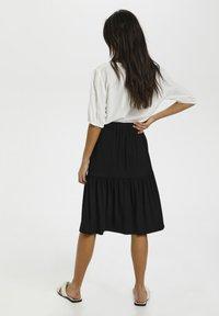 Kaffe - BPJILLA  - A-line skirt - black deep - 2