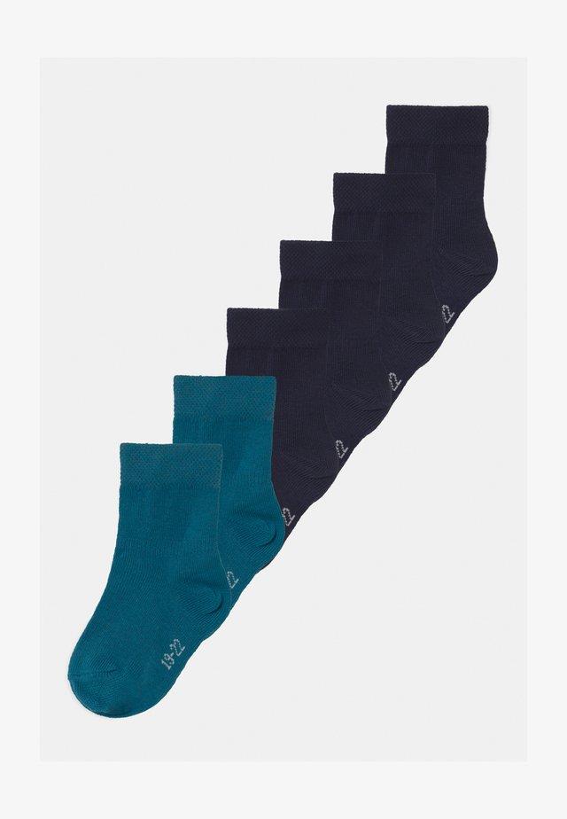 PLAIN RINGLET 6 PACK - Sokken - blue