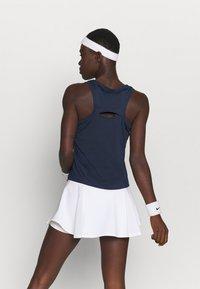 Nike Performance - TANK - T-shirt sportiva - obsidian/white - 2