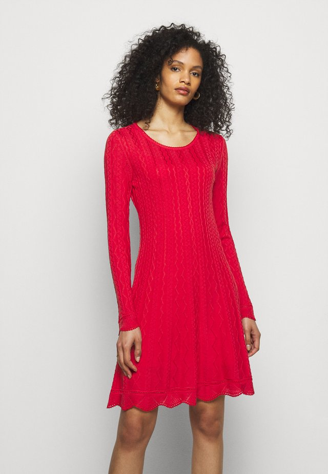 ABITO - Jumper dress - red
