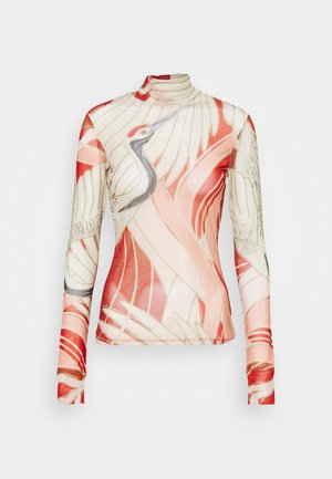 DILIONA - Long sleeved top - red