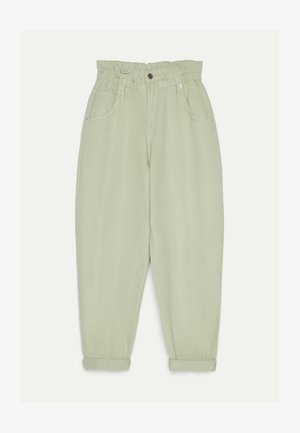 MIT STRETCHBUND  - Trousers - green