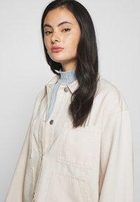 Monki - ROBYN JACKET - Denim jacket - white - 4