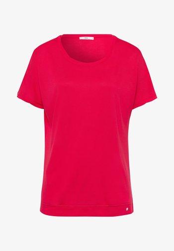 STYLE CAELEN - Basic T-shirt - papaya