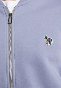 PS Paul Smith - MENS ZIP BOMBER - Sweat à capuche zippé - blue/grey - 5