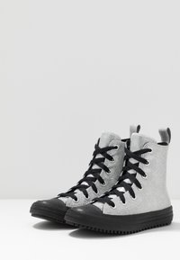 Converse - CHUCK TAYLOR ALL STAR BOOT - High-top trainers - pure silver/black - 3