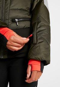 Icepeak - ELECTRA - Snowboard jacket - dark green - 7