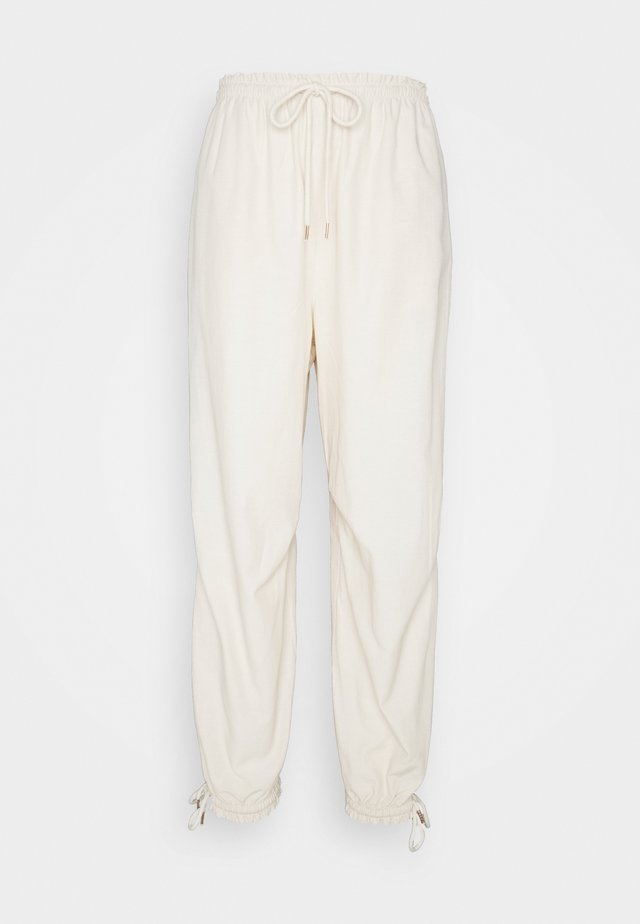 Trousers - soft ivory