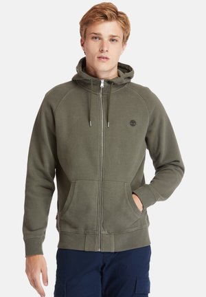 EXETER RIVER FULL ZIP - Zip-up hoodie - grape leaf
