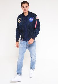 Alpha Industries - NASA - Bomberjacks - replica blue - 1