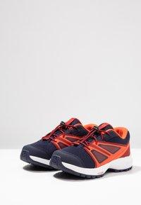 Salomon - SENSE - Hiking shoes - evening blue/red dahlia/cherry tomato - 3