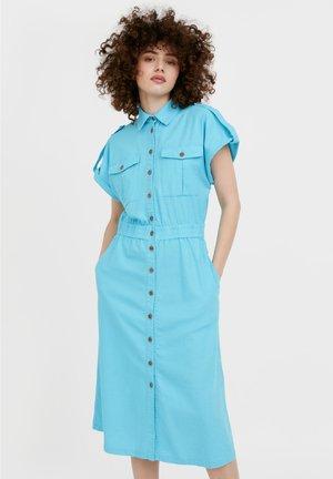 Shirt dress - turquois