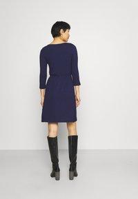 Anna Field - Mini waisted basic dress - Jersey dress - dark blue - 2