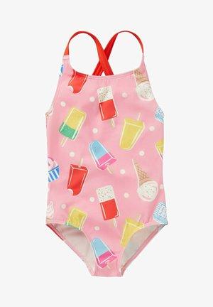 Swimsuit - hellrosa, eiscreme/getupft