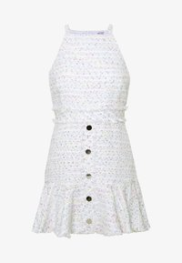 Miss Selfridge Petite - BOUCLE PINNY DRESS - Day dress - ivory - 4