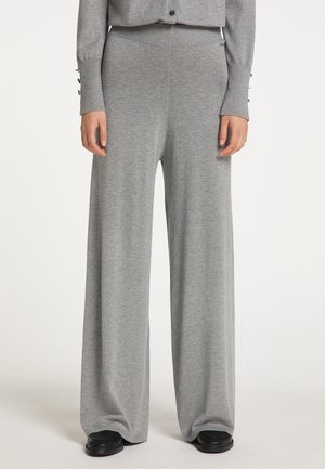 Trousers - grau melange