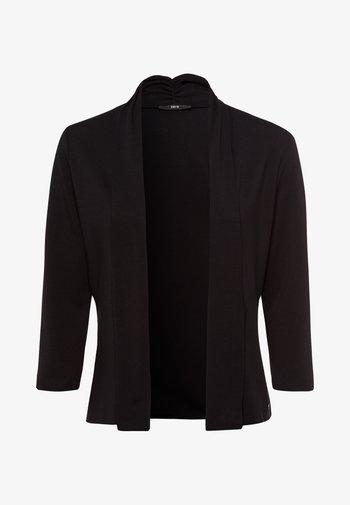 MIT SCHALKRAGEN - Cardigan - black