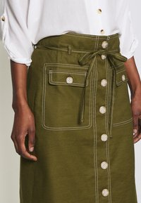 J.CREW TALL - NEW AVERY SKIRT - A-Linien-Rock - olive - 5