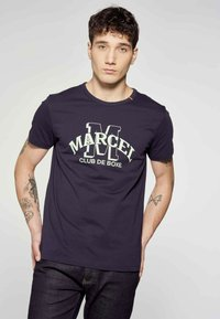 MDB IMPECCABLE - Print T-shirt - blue - 0