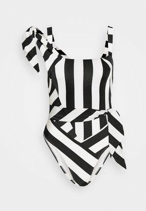JONELLE SWIMSUIT - Maillot de bain - black/white