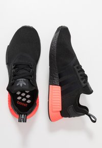 adidas Originals - NMD_R1 - Sneakers - core black/solar red - 1