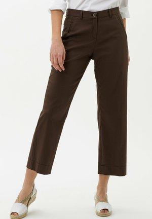 STYLE MAINE  - Pantalon classique - coffee